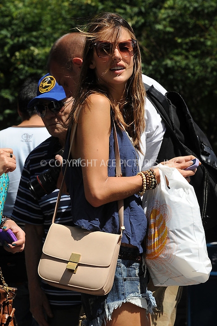 WWW.ACEPIXS.COM . . . . . .July 13, 2011...New York City...Alessandra Ambrosio in the West Village on 07-13-11 on July 13, 2011 in New York City....Please byline: KRISTIN CALLAHAN - ACEPIXS.COM.. . . . . . ..Ace Pictures, Inc: ..tel: (212) 243 8787 or (646) 769 0430..e-mail: info@acepixs.com..web: http://www.acepixs.com .
