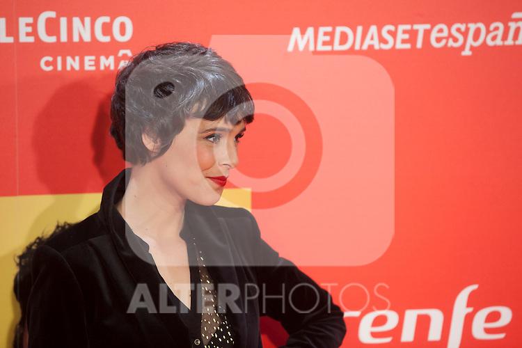 Spanish actress Belen Cuesta poses during `8 apellidos catalanes´ film premiere in Madrid, Spain. November 18, 2015. (ALTERPHOTOS/Victor Blanco)