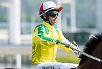 Jockey Joao Moreira riding Bravo Watchman competes in the Race 2, Able Friend Handicap, during the Longines Hong Kong International Races at Sha Tin Racecourse on December 10 2017, in Hong Kong, Hong Kong. Photo by Victor Fraile / Power Sport Images