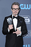11 January 2018 - Santa Monica, California - Gary Oldman. 23rd Annual Critics' Choice Awards held at Barker Hangar. <br /> CAP/ADM/BT<br /> &copy;BT/ADM/Capital Pictures