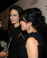 NEW YORK, NY - JANUARY 09: Angelina Jolie and Loung Ung attends the 2018 National Board Of Review Awards Gala at Cipriani 42nd Street on January 9, 2018 in New York City.  <br /> CAP/MPI/JP<br /> &copy;JP/MPI/Capital Pictures