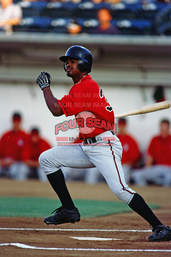 Darren Blakely of the Lake Elsinore Storm during a California League baseball game circa 1999. (Larry Goren/Four Seam Images)