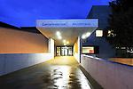 Musikhaus und Gemeindesaal in Ruggell für Broschüre im Auftrag von Vorsteher Ernst Büchel fotografieren. Foto: Paul Trummer / Mauren.