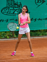 August 4, 2014, Netherlands, Dordrecht, TC Dash 35, Tennis, National Junior Championships, NJK,  Natasja Dragic   <br /> Photo: Tennisimages/Henk Koster