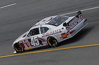 May 4, 2007; Richmond, VA, USA; Nascar Nextel Cup Series driver Kyle Petty (45) during practice for the Jim Stewart 400 at Richmond International Raceway. Mandatory Credit: Mark J. Rebilas