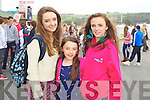 Pictured at Listowel Races on Sunday, from left: Aine Humphreys (Limerick), Roisin Humphreys (Limerick) and Megan Bateman (Limerick)..