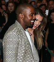 LAS VEGAS, NV, USA - OCTOBER 25: Kanye West, Khloe Kardashian arrive at Kim Kardashian West's 34th Birthday Celebration held at TAO Nightclub at The Venetian Las Vegas on October 25, 2014 in Las Vegas, Nevada, United States. (Photo by Xavier Collin/Celebrity Monitor)