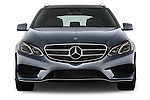 Straight front view of a 2014 Mercedes E350 4Matic Wagon