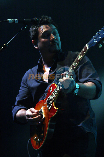 """Hugh """"Huey"""" Morgan of the Fun Lovin' Criminals at Cois Fharraige Festival, 07, Kilkee, Co.Clare...Photo NEWSFILE/Jenny Matthews.(Photo credit should read Jenny Matthews/NEWSFILE)....This Picture has been sent you under the condtions enclosed by:.Newsfile Ltd..The Studio,.Millmount Abbey,.Drogheda,.Co Meath..Ireland..Tel: +353(0)41-9871240.Fax: +353(0)41-9871260.GSM: +353(0)86-2500958.email: pictures@newsfile.ie.www.newsfile.ie.FTP: 193.120.102.198."""