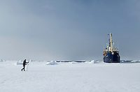 Expedition ship &quot;Stockholm&quot;<br /> Svalbard<br /> Norway