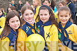 Sinead Bartley, Sophie Keane, Jane McGillicuddy and Shauna Murphy at the Killarney St Patricks Day parade on Monday   Copyright Kerry's Eye 2008