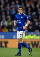 Caglar Soyuncu of Leicester City during the Premier League match between Leicester City and Newcastle United at the King Power Stadium, Leicester, England on 29 September 2019. Photo by Andy Rowland.
