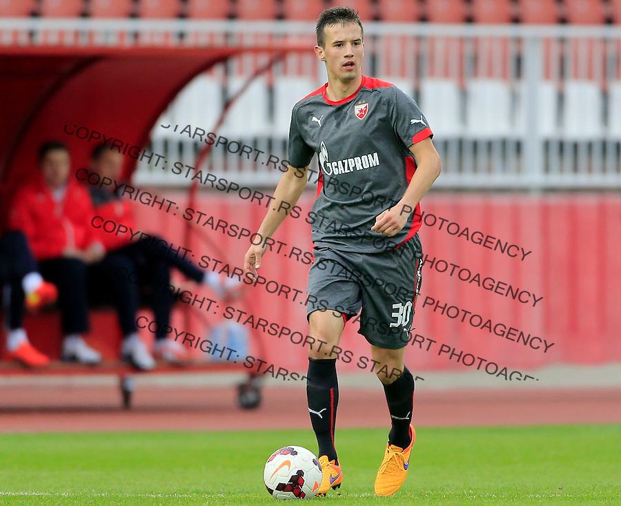 Fudbal Jelen Super League season 2014-2015 <br /> Donji Srem v Crvena Zvezda<br /> Vukasin Jovanovic<br /> Novi Sad, 29.04.2015.<br /> foto: Srdjan Stevanovic/Starsportphoto&copy;