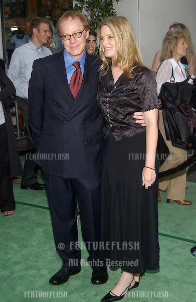 Actress BRIDGET FONDA & boyfriend actor DANNY ELFMAN at world premiere of The Hulk at Universal Studios Hollywood..June 17, 2003.