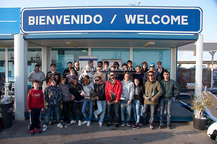 Copa de España clase RS:X.  III Master Golden Series RS:X Valencia 2010 - Trofeo Kim Lythgoe - Marina Real Juan Carlos I, Valencia, España, Europa