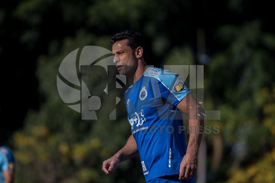 Belo Horizonte (MG) 06/07/2019 – – Fred do Cruzeiro durante jogo treino contra o Inter de Minas de Itaúna, na Toca da Raposa II, na região da Pampulha, em Belo Horizonte, neste sábado, 06.(Foto: Doug Patricio/Brazil Photo Press)