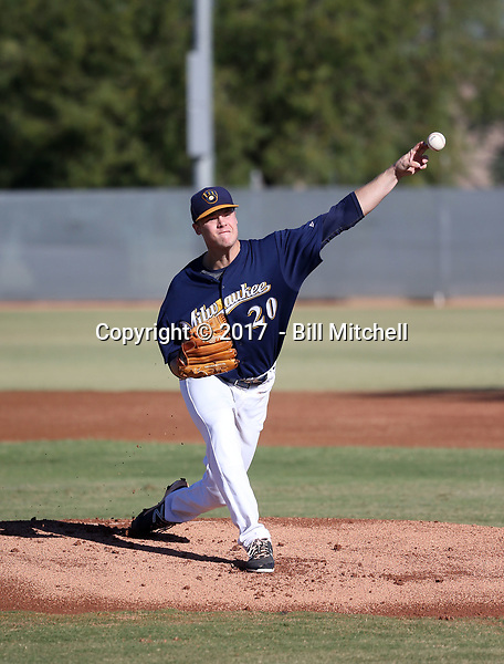 Nathan Kirby - 2017 AIL Brewers (Bill Mitchell)