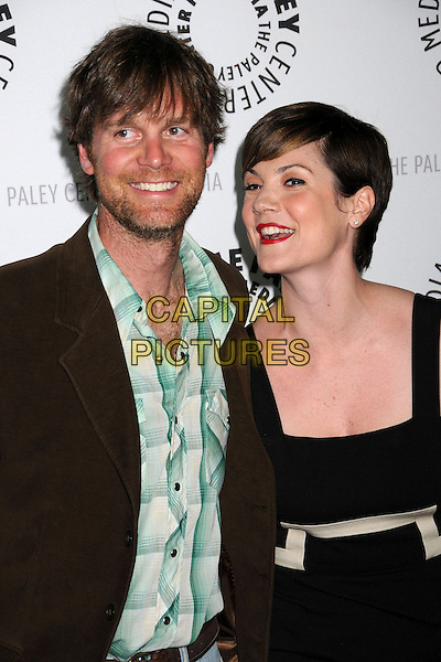 "PETER KRAUSE & ZOE McLELLAN .The 25th Annual Paley TV Festival Presents ""Dirty Sexy Money"" at Arclight Cinemas,  Hollywood, California, USA, 25 March 2008..half length .CAP/ADM/BP.©Byron Purvis/Admedia/Capital PIctures"