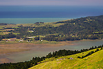 Bolinas Lagoon seen from Bolinas Ridge, Mount Tamalpais State Park, Marin County, California