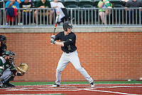 Kevin Conway (7) of the Wake Forest Demon Deacons at bat against the Charlotte 49ers at Hayes Stadium on March 16, 2016 in Charlotte, North Carolina.  The 49ers defeated the Demon Deacons 7-6.  (Brian Westerholt/Four Seam Images)