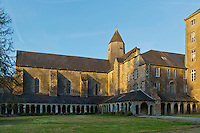 Europe/France/Normandie/Basse-Normandie/50/Manche/Mortain: L'abbaye Blanche ::  France, Manche, Mortain, White Abbey (12th century)