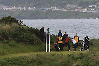 Daniella Barrett (FIN) on the 2nd tee during Matchplay Semi-Finals of the Women's Amateur Championship at Royal County Down Golf Club in Newcastle Co. Down on Saturday 15th June 2019.<br /> Picture:  Thos Caffrey / www.golffile.ie