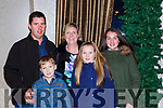 Roddy, Tadhg, Anna Ciara and Aoife O'Donoghue at the Muckross Concert in the Killarney Oaks Hotel on Thursday night