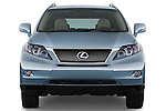 Straight front view of a 2010 Lexus RX 450h