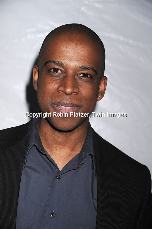 Keith Powell of 30 Rock..posing for photographers at The NBC Universal Experience of their Fall 2008-2009 schedule on May 12, 2008 at Rockefeller Center. Stars from NBC, USA, Bravo, Scifi, Oxygen, Telemundo and mun2 were there. ....Robin Platzer, Twin Images