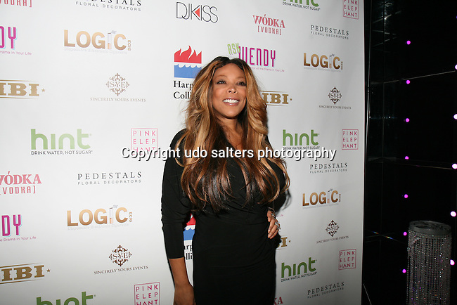 "Attends Wendy Williams celebrates the launch of her new book ""Ask Wendy"" by HarperCollins and  her new Broadway role as Matron ""Mama"" Morton in Chicago - Held at Pink Elephant, NY"