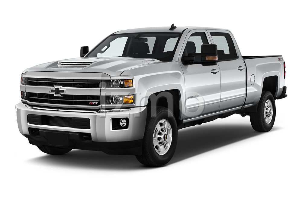 2019 Chevrolet Silverado-2500 LT 4 Door Pick-up Angular Front automotive stock photos of front three quarter view