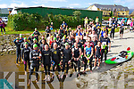 The competitors pictured at Tralee Tri Grand Prix Triathlon on Saturday