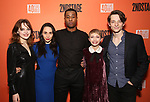 "Odessa Young, Lauren Patten, J. Alphonse Nicholson, Tavi Gevinson and Mike Faist attends the After Party for the Second Stage Production of ""Days Of Rage"" at Churrascaria Platforma on October 30, 2018 in New York City."