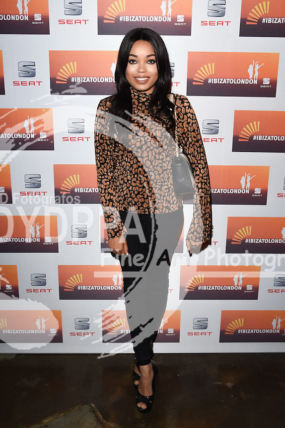 Dionne Broomfield<br /> attends the SEAT Ibiza launch party at Carousel, London<br /> <br /> &copy;Ash Knotek  D3019  29/09/2015