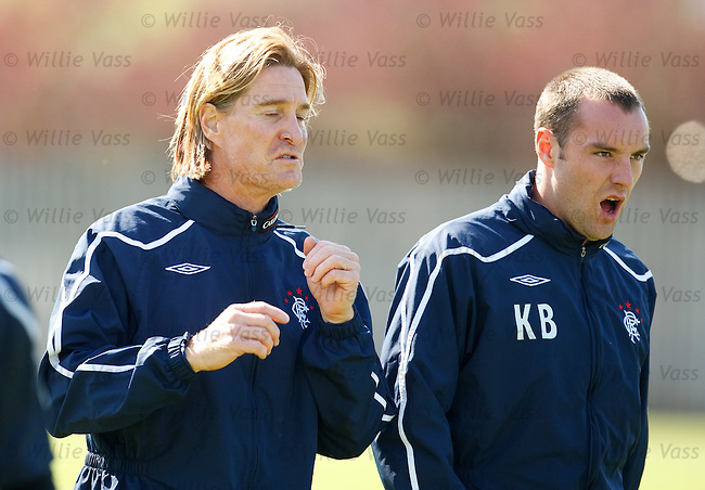 Richard Gough and Kris Boyd