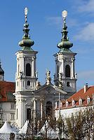Minoritenkirche in Graz, Steiermark, &Ouml;sterreich<br /> Church of Minorites, Graz, Styria, Austria, UNESCO-Weltkulturerbe