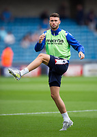 Bolton Wanderers' Gary Madine during the pre-match warm-up <br /> <br /> Photographer Ashley Western/CameraSport<br /> <br /> The EFL Sky Bet Championship - Millwall v Bolton Wanderers - Saturday August 12th 2017 - The Den - London<br /> <br /> World Copyright &not;&copy; 2017 CameraSport. All rights reserved. 43 Linden Ave. Countesthorpe. Leicester. England. LE8 5PG - Tel: +44 (0) 116 277 4147 - admin@camerasport.com - www.camerasport.com