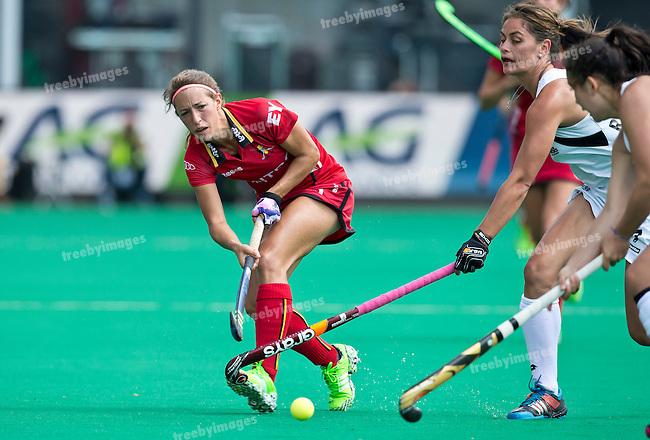 27/06/2015<br /> HWL Semi Final Antwerp Belgium 2015<br /> New Zealand v Belgium Women<br /> Barbara Nelen<br /> Photo: Grant Treeby