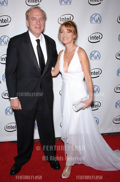 Actress JANE SEYMOUR & husband producer JAMES KEACH at the 2006 Producers Guild Awards at the Universal Hilton Hotel..January 22, 2006  Los Angeles, CA.© 2006 Paul Smith / Featureflash
