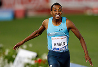 Golden Gala di atletica leggera allo stadio Olimpico di Roma, 6 giugno 2013.<br /> Ethiopia's Mohammed Aman wins the men's 800 meters race at the Golden Gala IAAF athletics meeting at Rome's Olympic stadium, 6 June 2013.<br /> UPDATE IMAGES PRESS/Riccardo De Luca