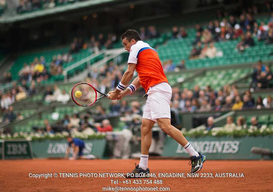 ROBERTO BAUTISTA AGUT (ESP)<br /> <br /> TENNIS - FRENCH OPEN - ROLAND GARROS - ATP - WTA - ITF - GRAND SLAM - CHAMPIONSHIPS - PARIS - FRANCE - 2016  <br /> <br /> <br /> <br /> &copy; TENNIS PHOTO NETWORK