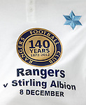 Rangers promote the 140 year anniversary of the founding of the football club
