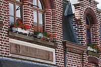 Europe/France/Nord-Pas-de-Calais/59/Nord/ Saint-Jans-Cappel: Musée Marguerite Yourcenar,