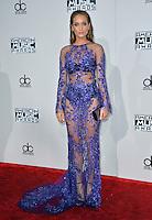 LOS ANGELES, CA. November 20, 2016: Model Hannah Davis at the 2016 American Music Awards at the Microsoft Theatre, LA Live.<br /> Picture: Paul Smith/Featureflash/SilverHub 0208 004 5359/ 07711 972644 Editors@silverhubmedia.com
