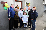 Anthony and Ann Lynch, Natasha Huenchko, Isobelle San Roma, Dessie Lynch with Niamh and Sean Tester as Natasha is welcomed home from Chernobyl...Photo NEWSFILE/Jenny Matthews.(Photo credit should read Jenny Matthews/NEWSFILE)....This Picture has been sent you under the condtions enclosed by:.Newsfile Ltd..The Studio,.Millmount Abbey,.Drogheda,.Co Meath..Ireland..Tel: +353(0)41-9871240.Fax: +353(0)41-9871260.GSM: +353(0)86-2500958.email: pictures@newsfile.ie.www.newsfile.ie.FTP: 193.120.102.198.