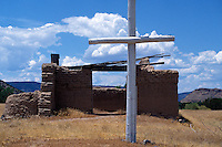 Santa Rosa de Lima de Abiquiu Church,  Abiquiu, New Mexic