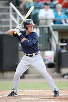 July 2, 2009: Mississippi Braves infielder Brandon Hicks (7) at Pringles Park in Jackson, TN. The Braves are the Southern League AA affiliate of the Atlanta Braves. Photo by: Chris Proctor/Four Seam Images
