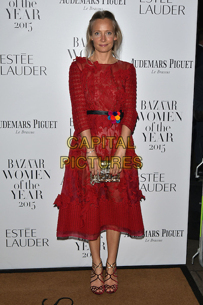 Martha Ward<br /> Harper's Bazaar Women of the Year 2015 awards,  Claridges Hotel n London, November 03, 2015.<br /> CAP/PL<br /> &copy;Phil Loftus/Capital Pictures