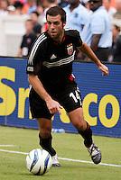 D.C. United's Ben Olsen. D.C. United defeated the NY/NJ MetroStars 6 to 2 at RFK Stadium, Washington, D.C., on July 3, 2004.