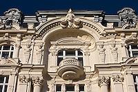 Europe/Autriche/Niederösterreich/Vienne:  Immeuble de style historiciste  au N: 42 sur la Linke Wienzeile et dominant le Naschmarkt